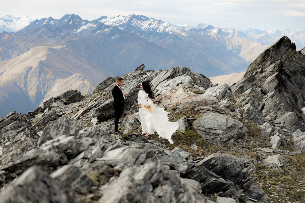 Susan Miller Photography with Hitched in Paradise - Wildly Romantic Mountain Elopement