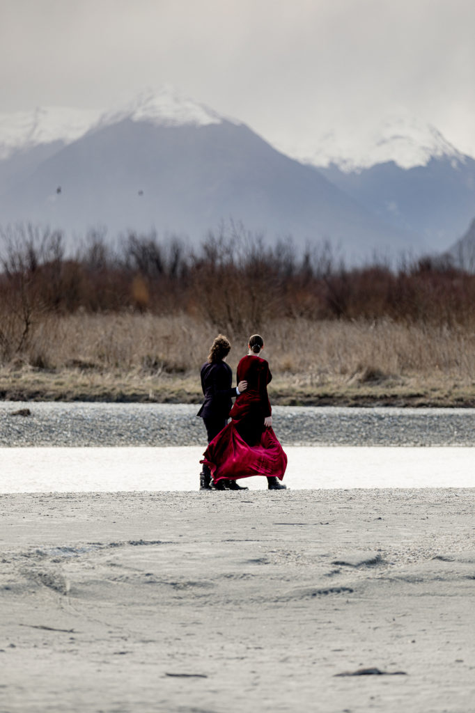 Rebekah and Tim Head of the Lake