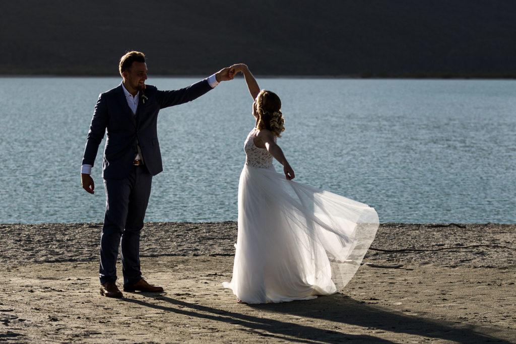 Lara and Sam's Glenorchy elopement - Susan Miller Photography