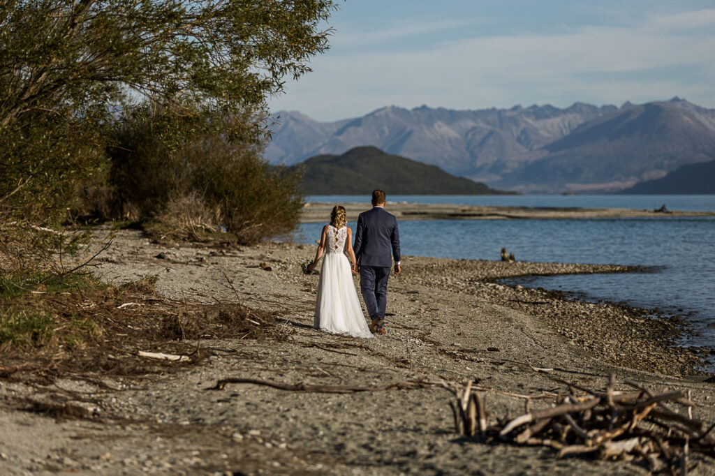Intimate Wedding Ceremony - Susan Miller Photography