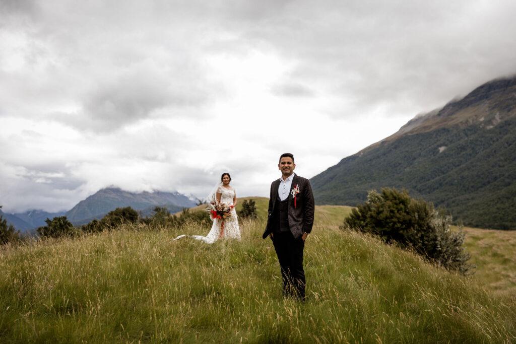 Amneet & Gagan at the Wedding Spot