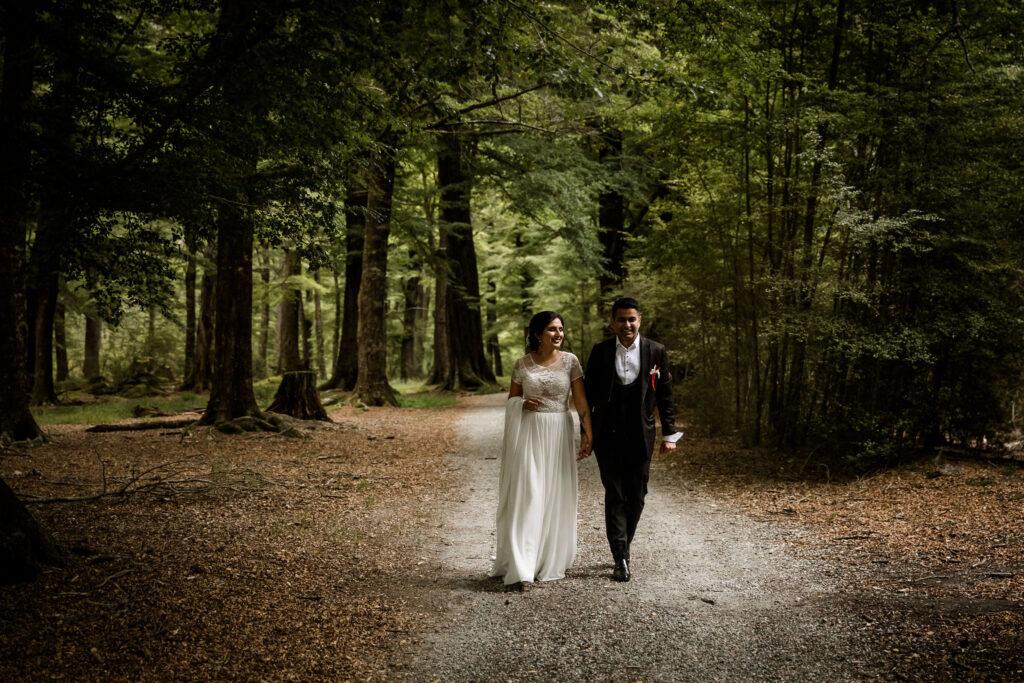 Amneet & Gagan take a final walk in Paradise Forest