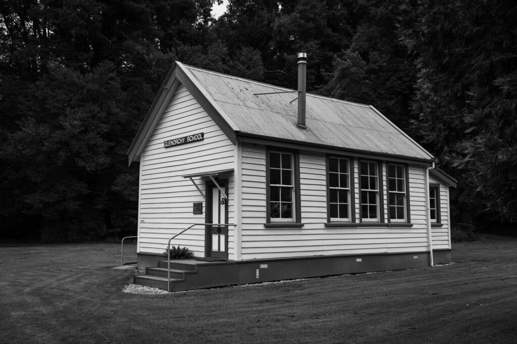 The Old Glenorchy School at Paradise Trust