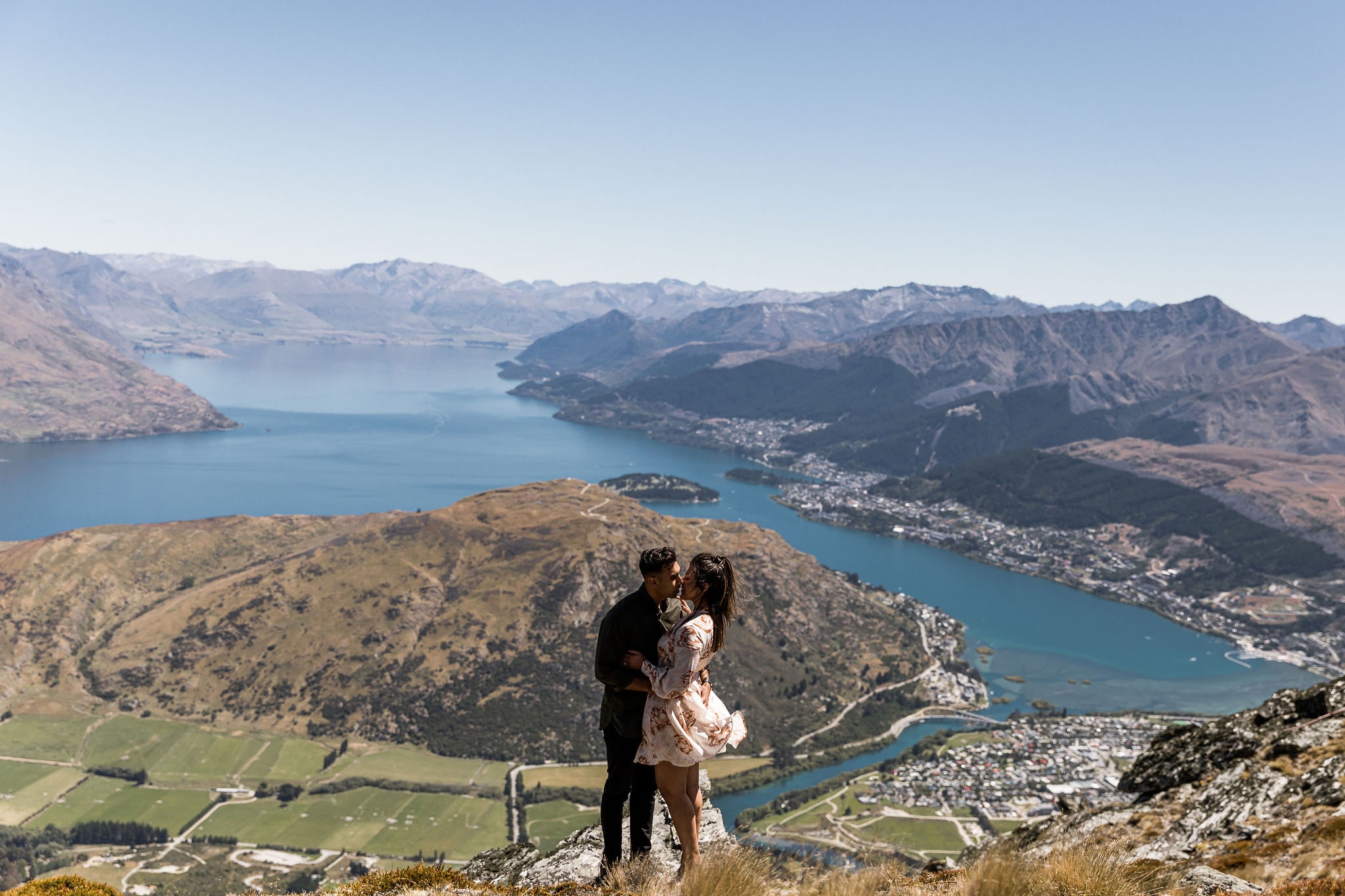 Back at the Queenstown Airport - Engaged
