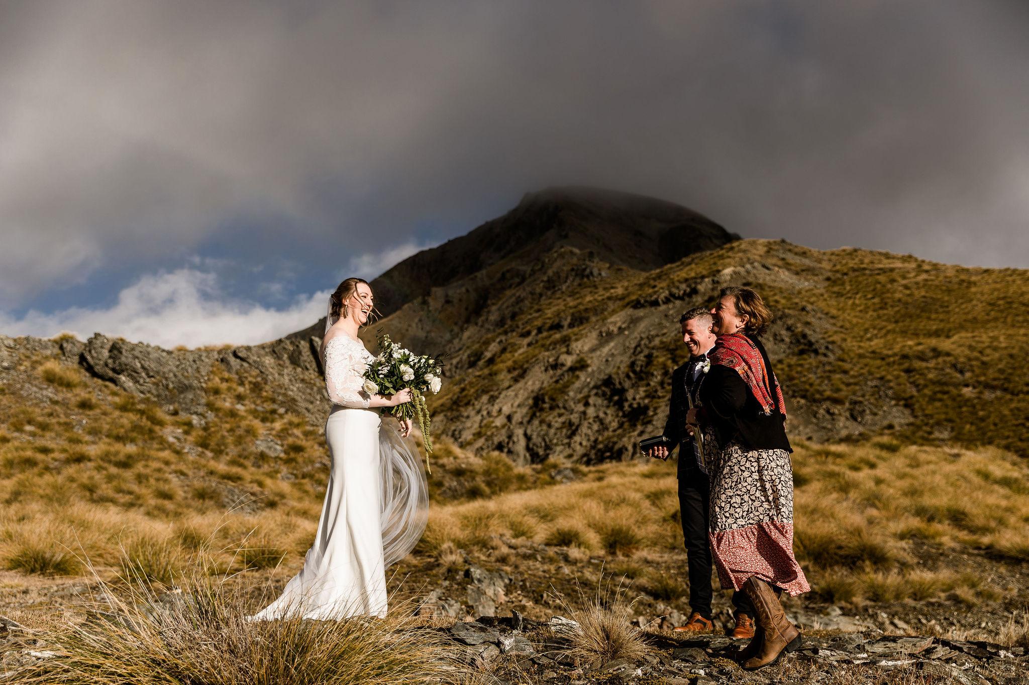 Heli Elopement Queenstown - Susan Miller Photography