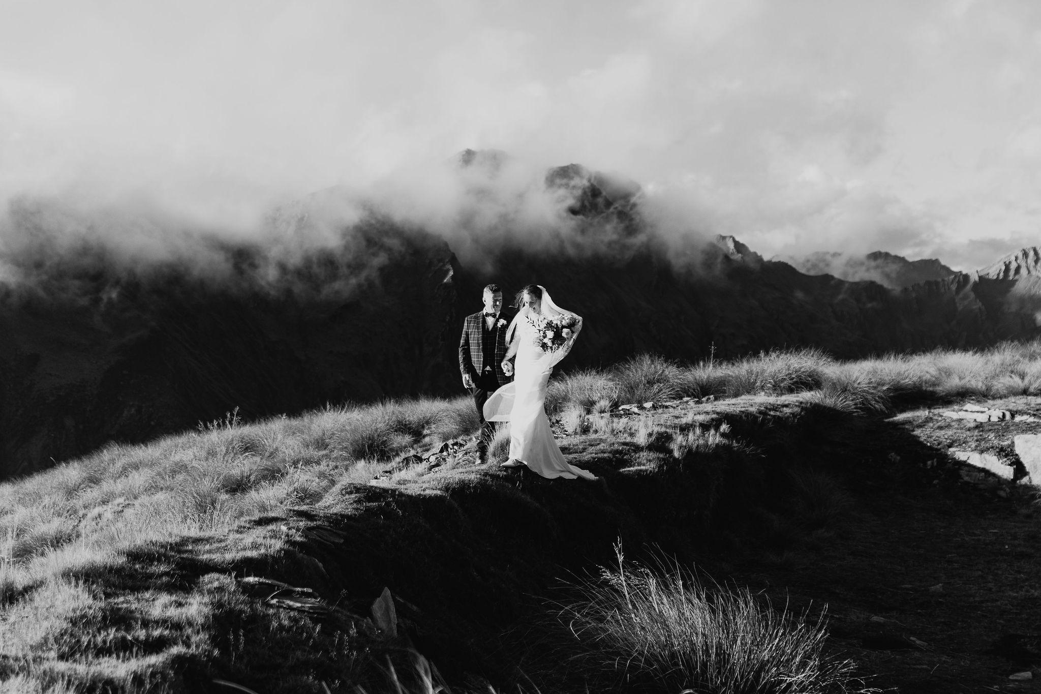 Heli Elopement - Susan Miller Photography