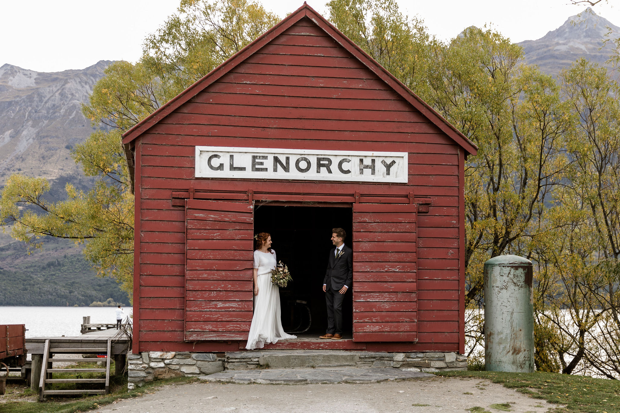 Glenorchy Red Shed - Susan Miller Photography