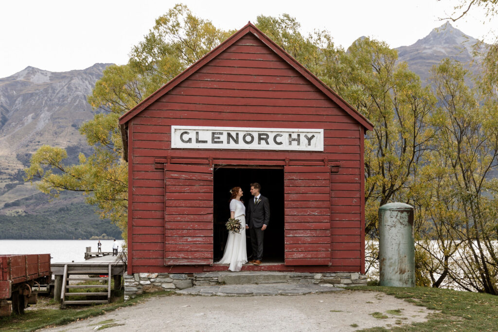 Glenorchy Wharf Shed - Susan Miller Photography