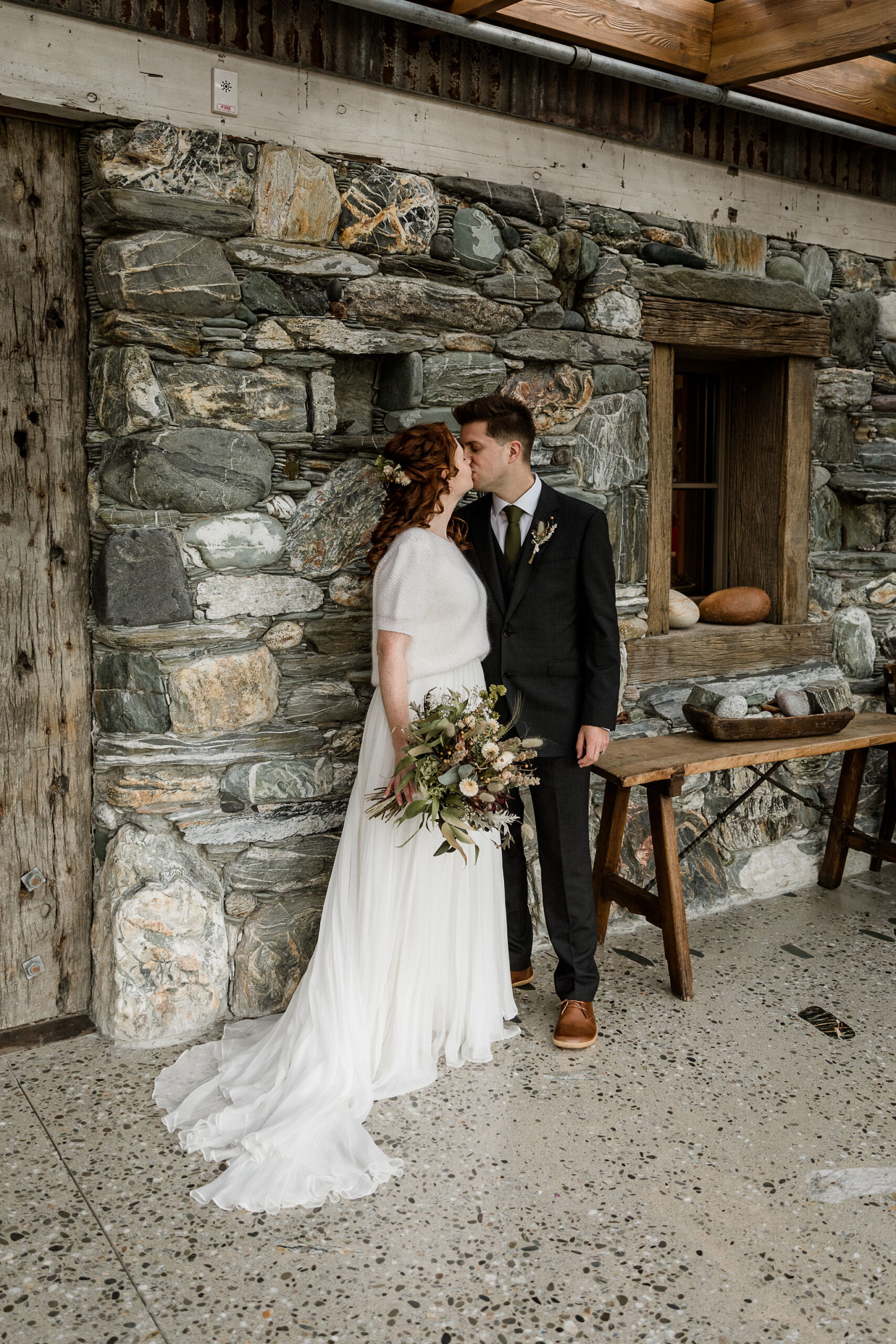 Fionnuala & Graham - Camp Glenorchy Elopement - Susan Miller Photography