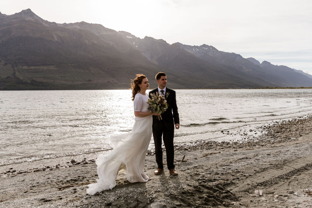 Head of the Lake Elopement - Susan Miller Photograph