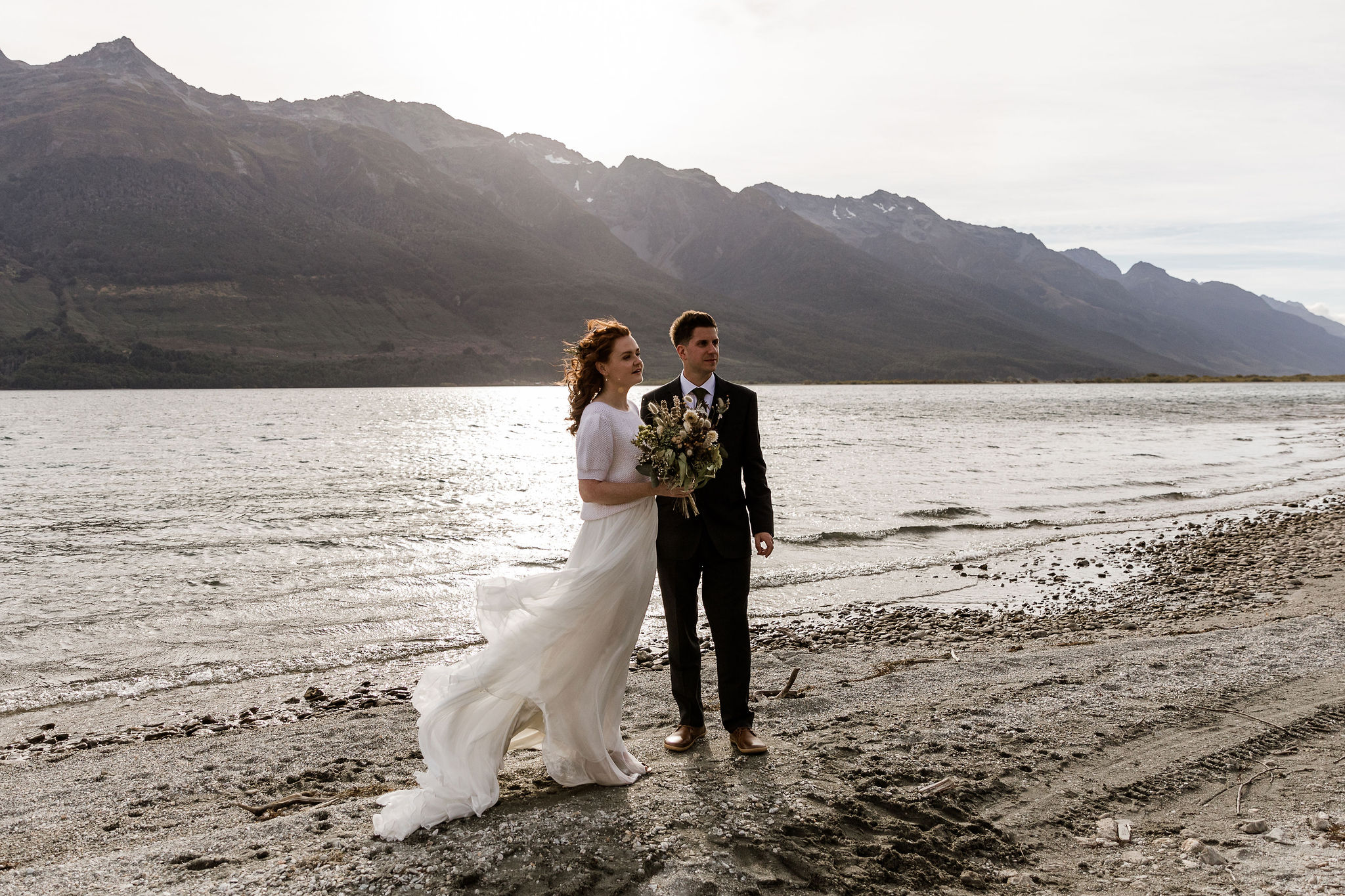 Head of the Lake Elopement - Susan Miller Photograph