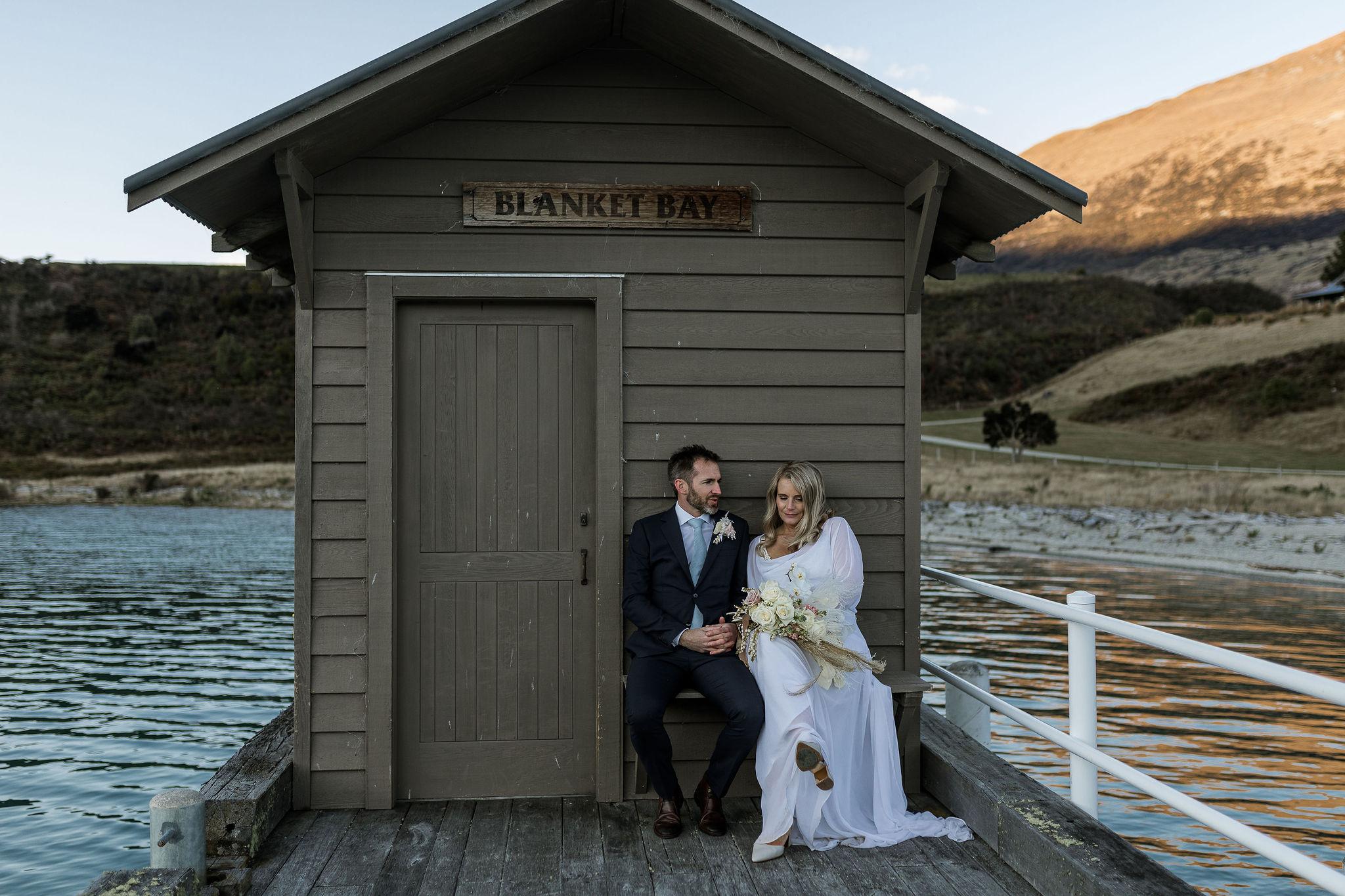 Blanket Bay - Wildly Romantic Weddings & Elopements