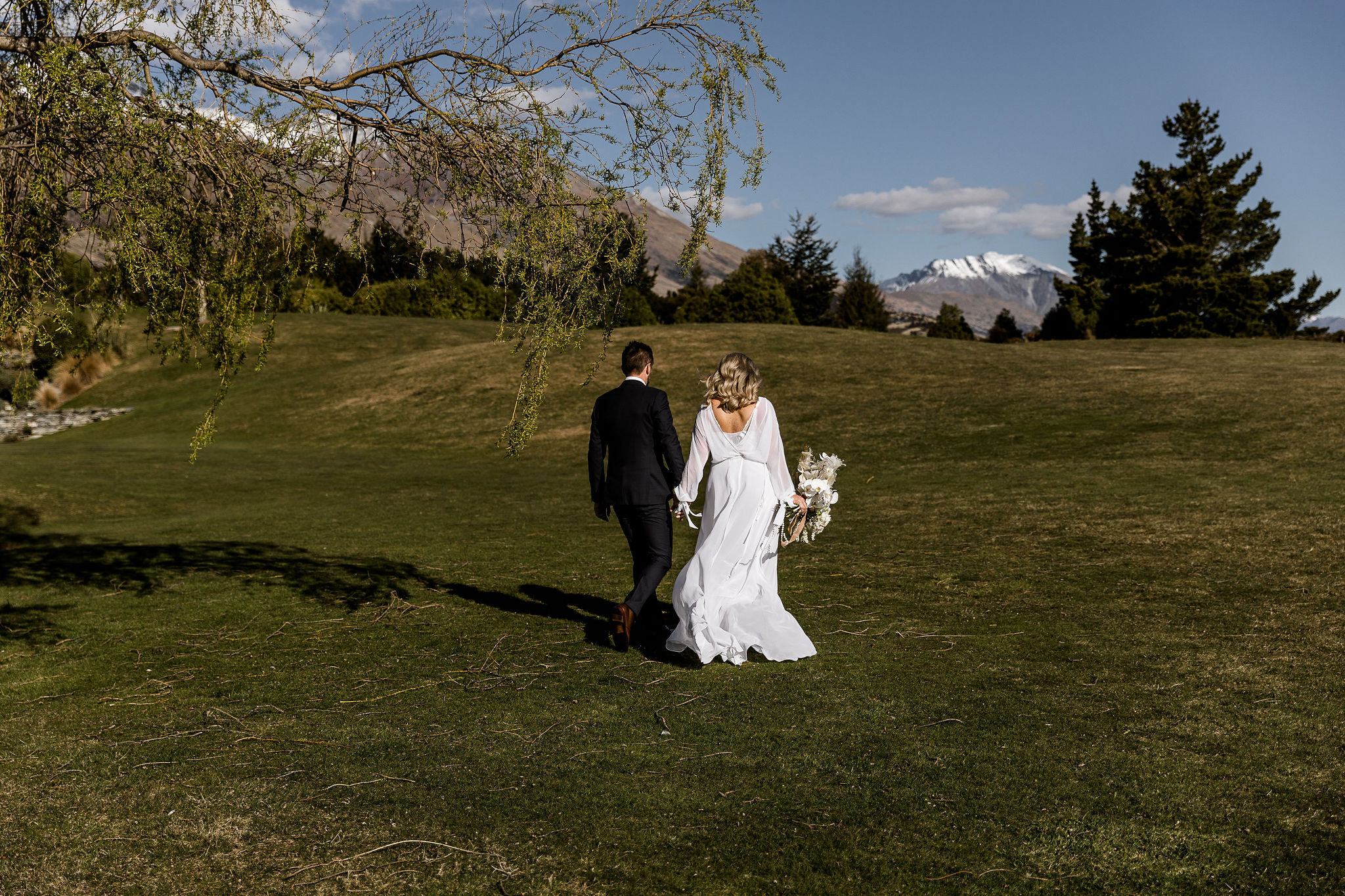 Heli Glenorchy - Blanket Bay - Wildly Romantic Weddings & Elopements